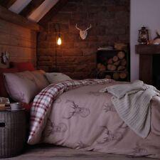 Linge de lit et ensembles beige coton mélangé pour chambre