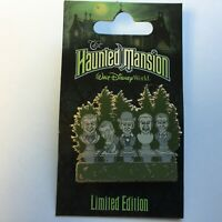 WDW - The Haunted Mansion - Singing Busts - LE 1000 Disney Pin 60187