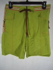 Vast by Beach Rays Men's Board Shorts 100% Nylon - Size 28 - Color Moss Green