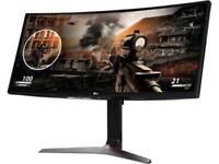 "LG 34"" HD Monitor (2560x1080) 21:9 UltraWide Curved IPS, 144hz, 34UC79G-B"
