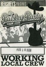 Brad Paisley 2008 Paisley Party concert Tour Backstage Pass! Authentic Original