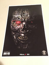 TERMINATOR GENISYS  - Movie Poster - Flyer - CARMIKE EXCLUSIVE - 11 X 17 - VER A