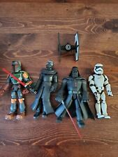 Starwars - DISNEY ToyBox FIGS Darth Vader KYLO Boba FETT