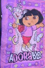 Set of Dora ADORABLE Comforter and Dora Plush Doll