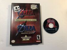 Gamecube Zelda: Ocarina of Time & Master Quest Combo **TESTED & WORKS**