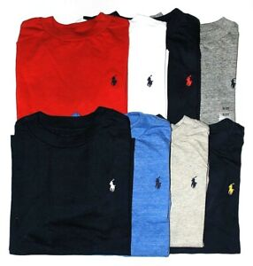 Boys Genuine Ralph Lauren Long Sleeve Cotton Tops - 2yrs to 18-20yrs CLEARANCE