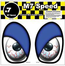 MINI Cooper R50-R53 Underhood Eye Decal Set- Blue Eyelids