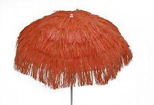 Maffei ombrellone Kenya arancione rafia d. 200 cm made in Italy