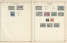 Salvador Collection 1942 to 1963 on 15 Scott International Pages