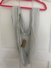 Nike Infinite Twist Scarf Light Grey Womens Unisex - NEW