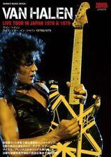Van Halen Live Tour in Japan 1978 & 1979 Reprint Book 2020 EVH David Lee Roth