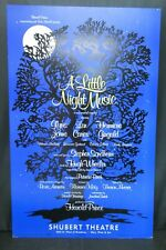 "A Little Night Music Theater Broadway Window Card Poster 14"" x 22"""