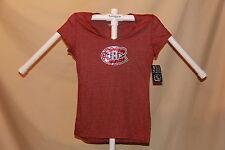 Montreal Canadiens NHL Fashion SEQUIN TEE T-SHIRT  Womens XL  NWT   $36 retail