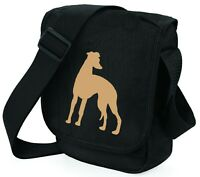 Whippet Bag Shoulder Bags Handbags Lurcher Whippet Greyhound Dog Walkers Gift
