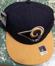 half off e7401 597cb NFL Los Angeles Rams on Field Apparel Flat Brim Fitted Size 8 NFL Cap by  Reebok