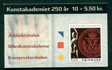DENMARK HS137 (1272) Art Academy Booklet, VF