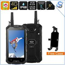 Conquest S8 Rugged Phone IP68 4G SOS Android 6.0 Octa Core 1080P 6000mAh
