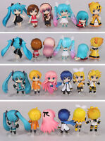 Anime VOCALOID Hatsune Miku Family Nendoroid Petit 12 Pcs Figures Set Toy Gift
