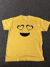 Heart smiley face Tshirt