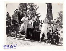 Buster Crabbe barechested. Evelyn Ankers VINTAGE Photo Last Of The Redmen