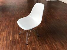 Original - Vitra DSR Eames Plastic Side Chair, weiss