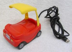 Vintage LITTLE TYKES Cozy Coupe COMPUTER MOUSE Toy 'Cool Car' PS/2 Port TESTED