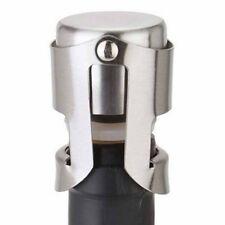 Stainless Steel Champagne Sparkling Wine Liquor Bottle Stopper Saver Sealer AZ