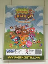 Moshi Monsters Mash Up trading Cards book & 160 cards