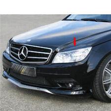 Painted ABS For Mercedes BENZ C-Class W204 Sedan Front Headlight Eyelids Eyebrow
