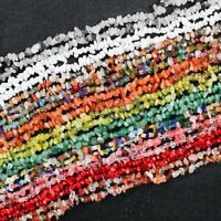 Fashion Freeform Natural Gemstone Chips Beads For Jewelry Making Bulk in Lots