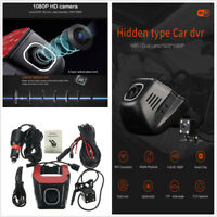 HD 1080P Hidden Mini Wifi  Car DVR Vehicle Rear Camera Video Recorder Dash Cam