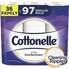 Cottonelle Ultra ComfortCare Toilet Paper - 36 Family Rolls