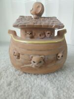 Vintage twin winton cookie jar rare Noah's Ark