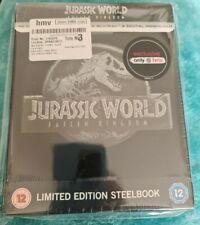 Jurassic World Fallen Kingdom Steelbook  4k Ultra HD + 3d Blu-ray  & Bonus Disc