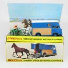 Dinky Toys France - 571 Saviem de Chevaux Horse Transporter - Boxed Vintage Rare
