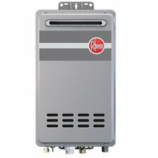 Rheem RTG-84XLN 8.4 GPM Outdoor Tankless Water Heater Low Nox for 2-3 Baths