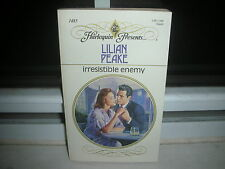Irresistible Enemy No. 485 by Lilian Peake (1992, Paperback)