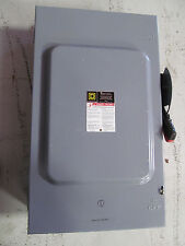 Square D 200 Amp Heavy Duty Safety Switch H364N Fusible 600 V Type 1 Enclosure