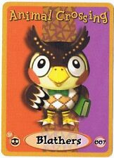 Blathers 007 Animal Crossing E-Reader Card Nintendo GBA