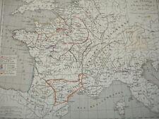 LA FRANCE à la mort de Philippe 1er de 996 à 1108