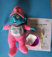 """16"""" Berry Lovin'! Color Changing Talking Baby Smurf"""