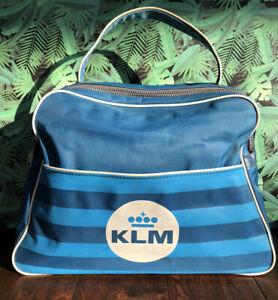 Vintage KLM Travel/Overhead/ Luggage/Suitcase