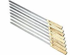 17-Inch Long, Large Stainless Steel Brazilian-Style Bbq Skewers, Kebab Skewers
