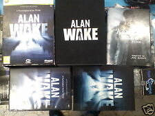 ALAN WAKE LIMITED COLLECTOR EDITION xbox 360 pal completo