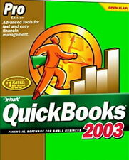 Intuit QuickBooks Pro 2003 Install CD-ROM for Windows - Media Only (no License)