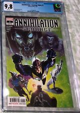 Annihilation - Scourge Alpha #1 CGC 9.8 (Nova, Beta Ray Bill cover) Marvel