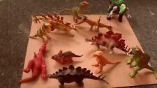 Dinosaur & Other Animal Plastic Toys (lot of 22 figures)