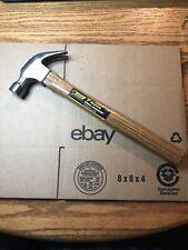 Steel Grip  7 oz. Smooth Face  Claw Hammer  Wood Handle