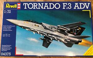 Revell 04375 Tornado F3 ADV 1:72 New / Sealed 1989 Vintage