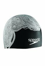 SPEEDO Silicone SUBLIME Cap SWIMCAP TENTACLE HAIR Swimming Soft Pool 7510203